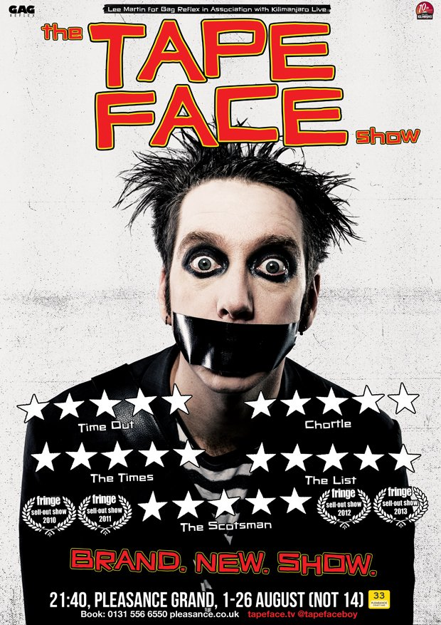 tape face poster 2018